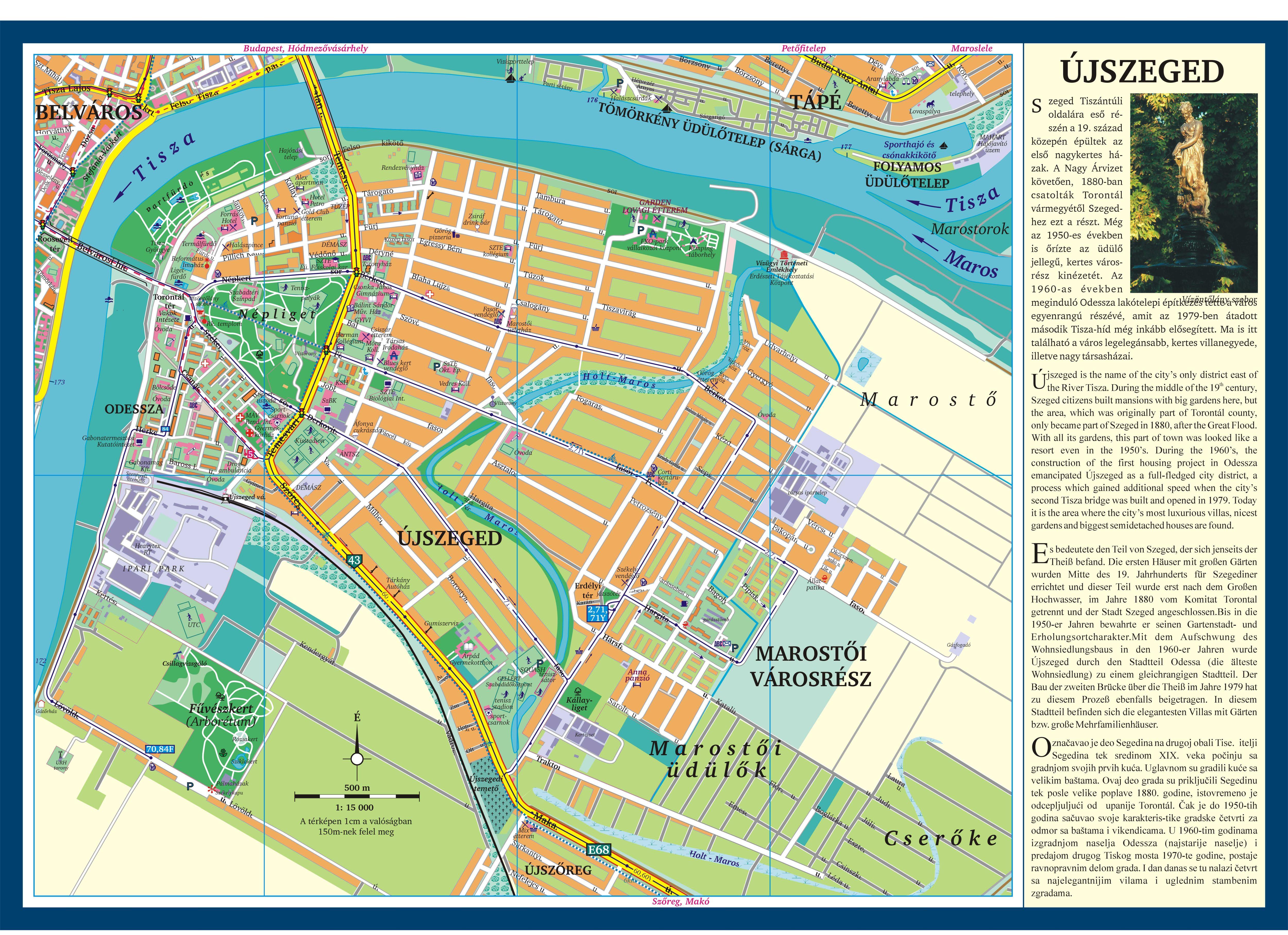 Szeged Latnivalok Terkep Marlpoint