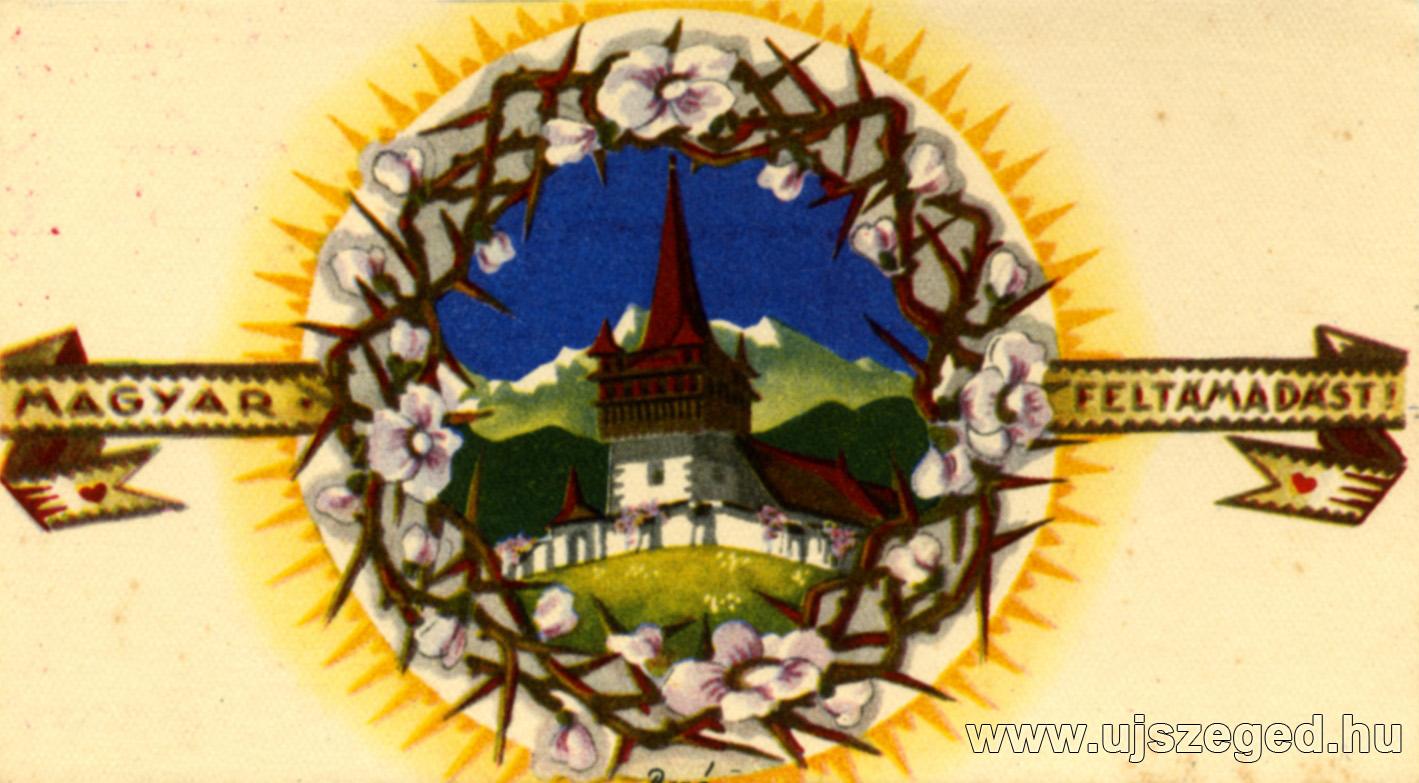Húsvéti képeslap képe